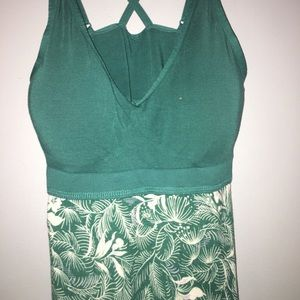 Small Tropical Turquoise Night Gown